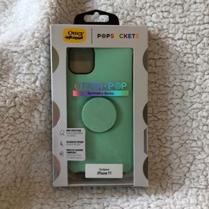 OtterBox Popsocket Case for IPhone 11 Green NWT